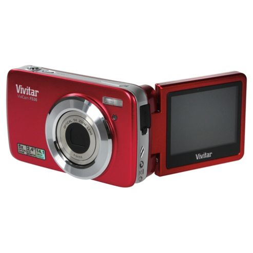 Vivitar V536 Red Digital Camera