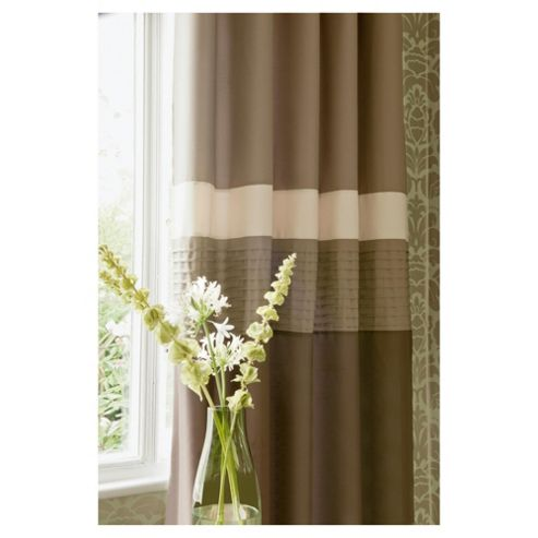 Catherine Lansfield Nova Lined Eyelet Curtains W167xL183cm (66x72