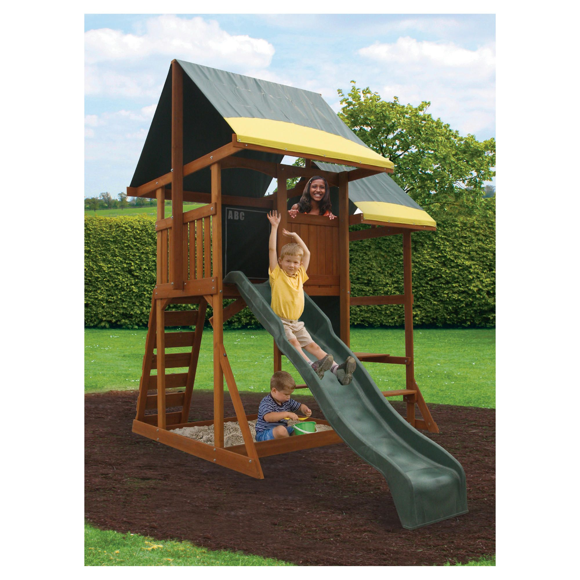 Selwood Iowa Playset at Tesco Direct