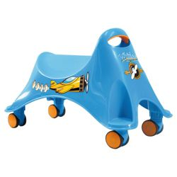 Mookie Whirlee Ride-On - Blue