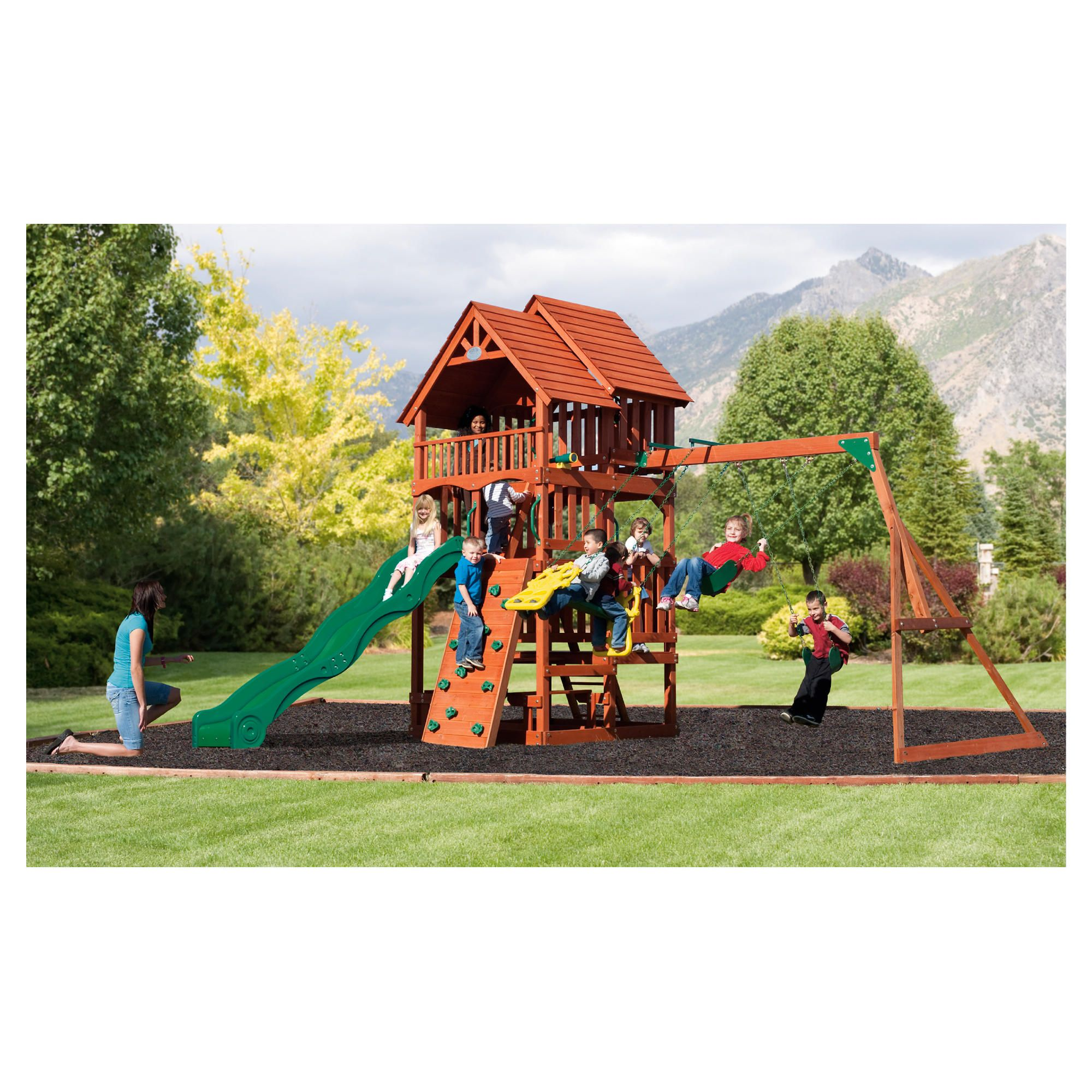Selwood Highlander Playset at Tesco Direct