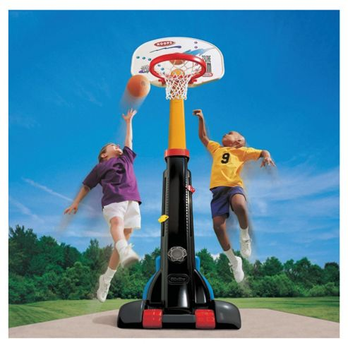 Little Tikes Easy Store Basketball Set