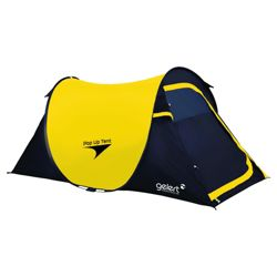 Gelert Pop-Up Dome Tent, Yellow