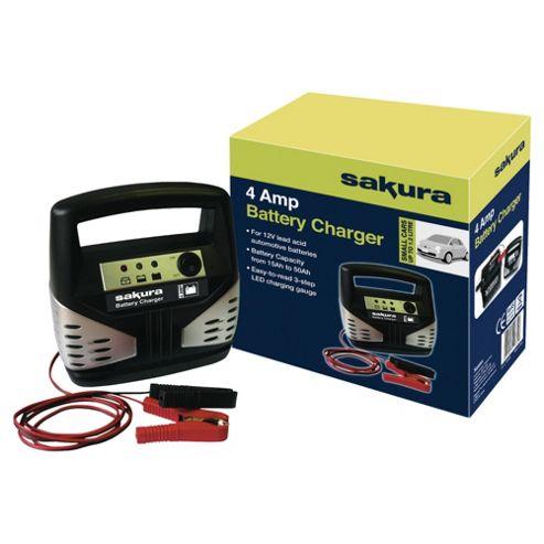 Sakura 4 amp Battery Charger SS3629