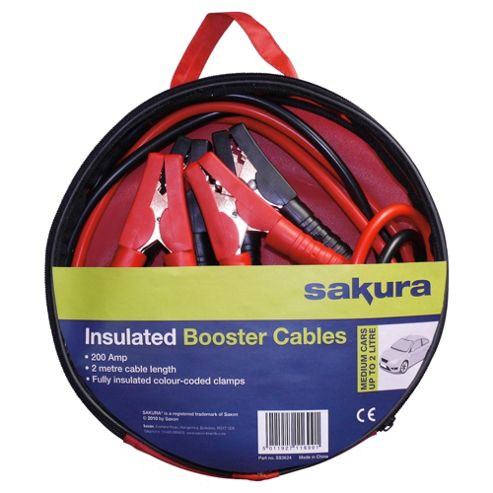 Sakura Booster Cables SS3624, 200 amp