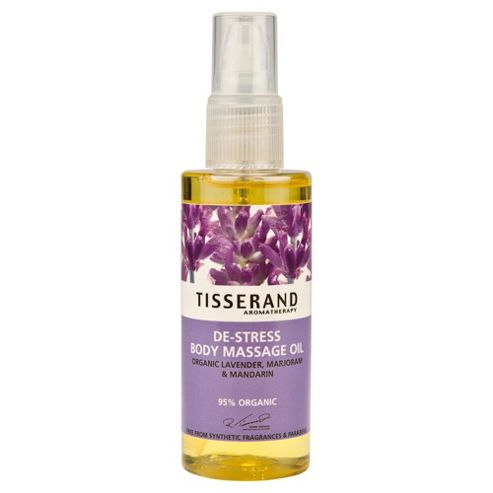Tisserand De-Stress Body Massage Oil