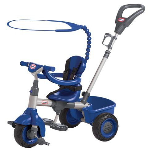Little Tikes 4-In-1 Trike Navy Blue/Metal