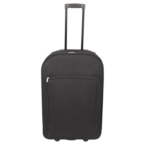 Tesco 2-Wheel Large Black Suitcase