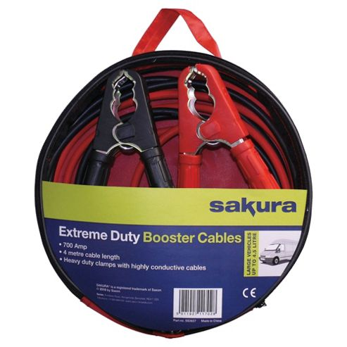 Sakura 4m 700 Amp Booster Cables SS3626