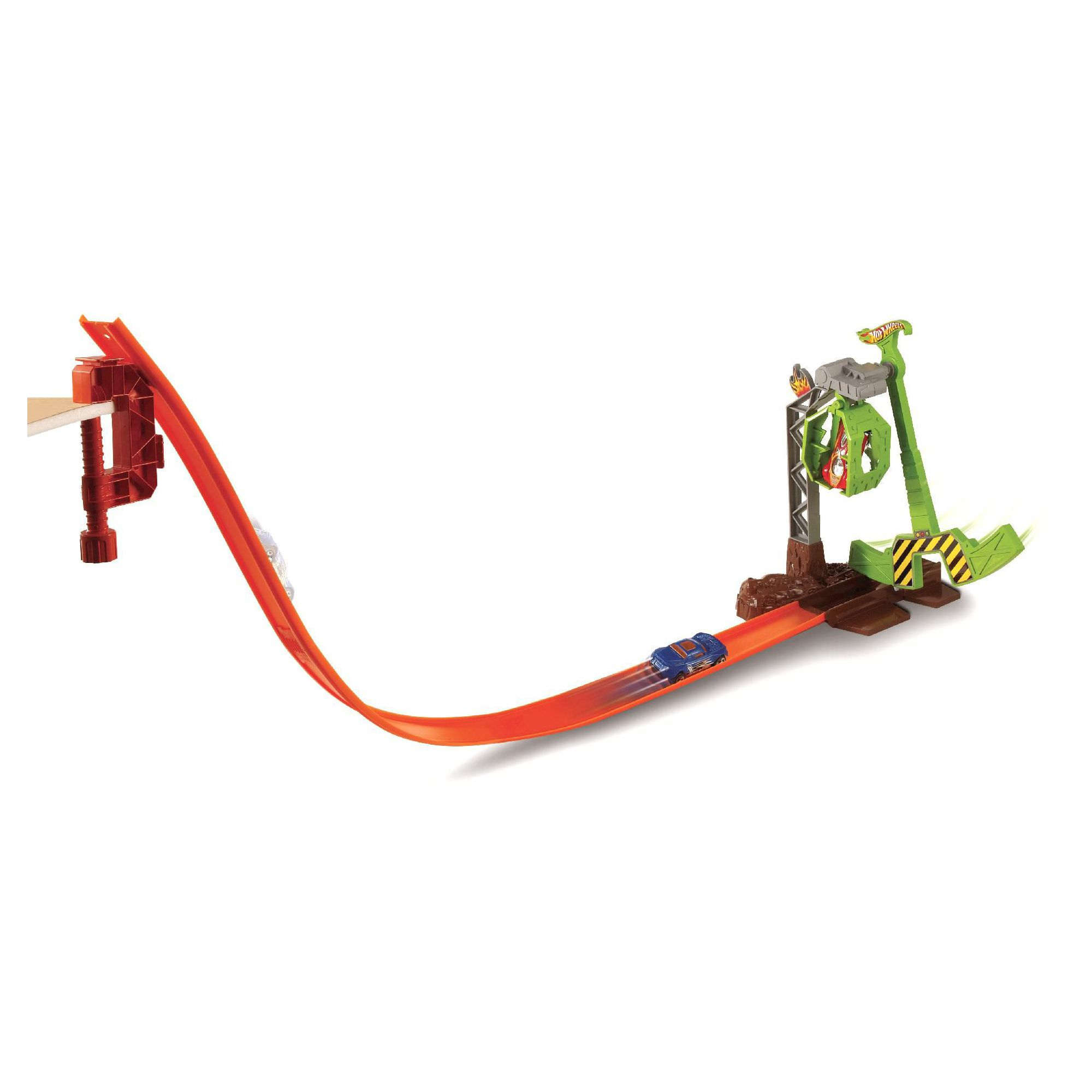 hot wheels loop track instructions