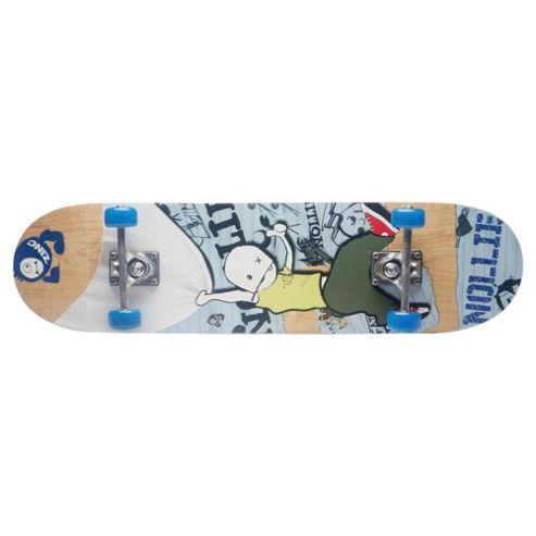 Zinc Nollie Skateboard