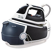Morphy Richards 42239 Steam Generator with Palladium Plate - Black/White