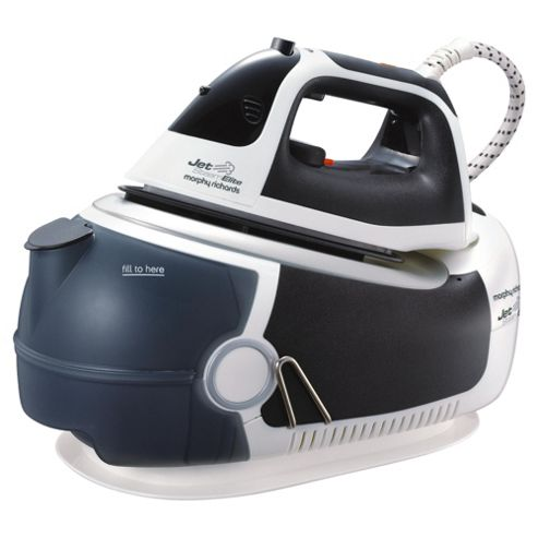 Morphy Richards Steam Generator with Palladium Plate Black/White