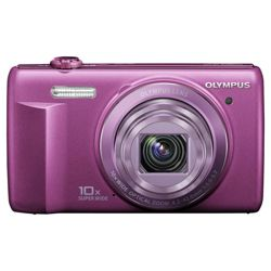 Olympus VR-340 Smart Digital Camera - Purple