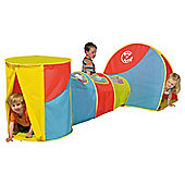 Pop N Fun Concertina Combo Play Tunnel