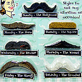"""Funny gifts - Fake Moustache Set"""
