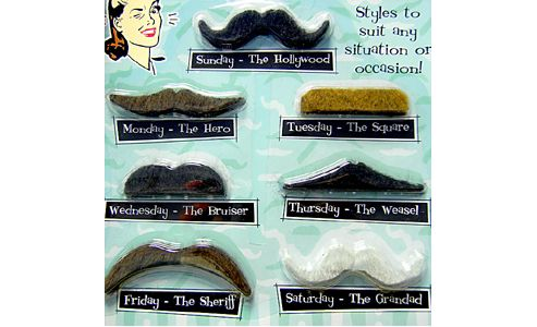 Funny gifts - Fake Moustache Set