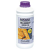 Nikwax TX Direct Wash-In Waterproofing for Wet Weather Clothing, 1 Litre