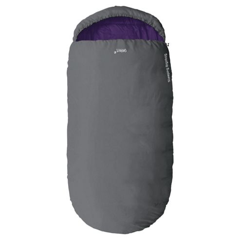 Gelert Bigabag Adult Sleeping Bag, Grey