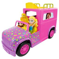 Polly Pocket Summer Party Safari Vehicle
