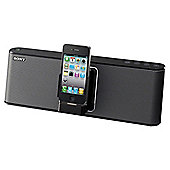 Sony Rdp M15 Docking Speaker - Black
