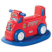 Little Tikes Rock n' Scoot 2-In-1 Fire Truck Ride-On