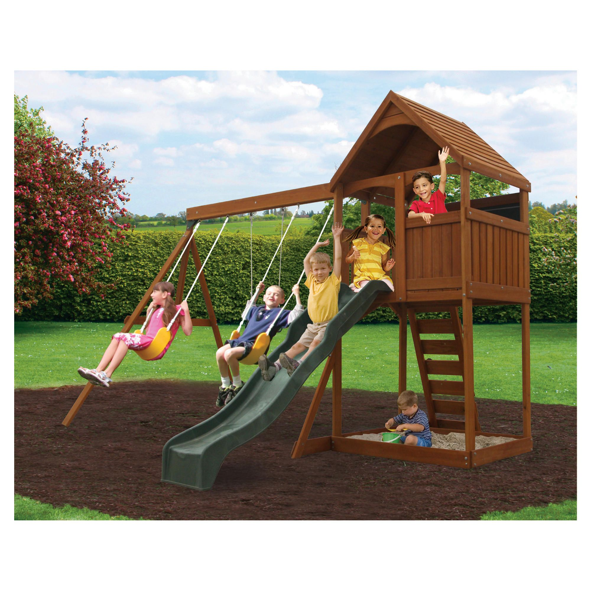 Selwood Utah Playset at Tesco Direct