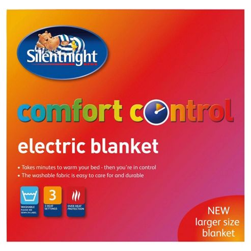 Silentnight standard electric blanket, double