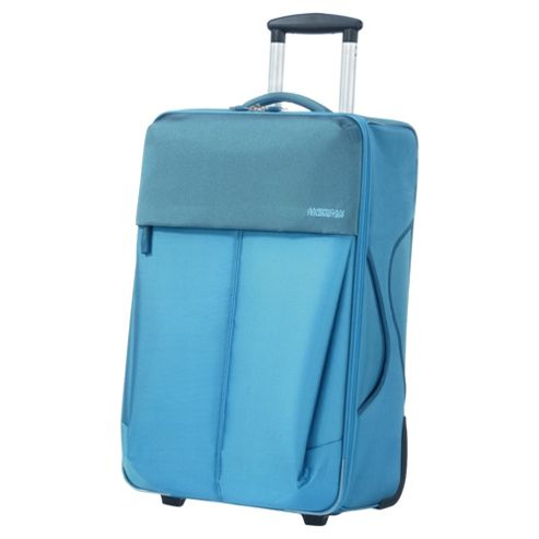 Samsonite American Tourister Genoa 2-Wheel Suitcase, Blue Small