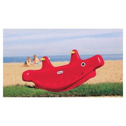 Little Tikes Whale Teeter Totter, Red