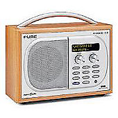 Pure EVOKE-1S Luxury DAB/FM Portable Radio - Cherry