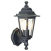 Tesco Lighting 6 Sided Wall Uplighter Black