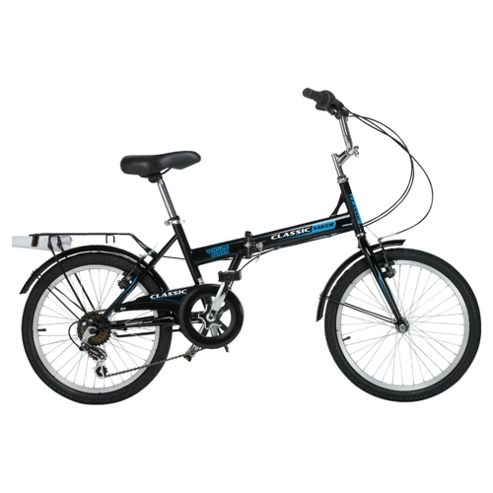 Classic Saker 6-Speed Folding Bike..