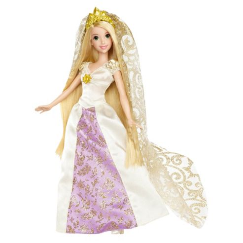 Disney Princess Tangled Rapunzel Wedding Set