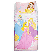 Disney Princesses Single Duvet Set