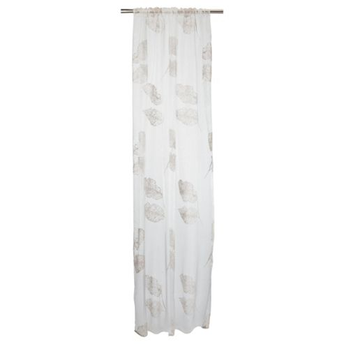 Tesco Woodland Flock Voile Panel W137Xl229cm (54X90