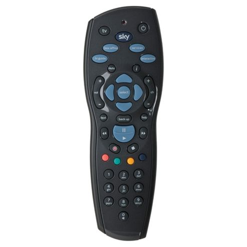 One for All Sky 125 HD Revision 9 remote control for Sky box- Black