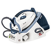 Tefal GV7450 Steam Generator with Ceramic Plate - White/Blue