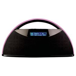 Magicbox Parabola Radio  pink handle