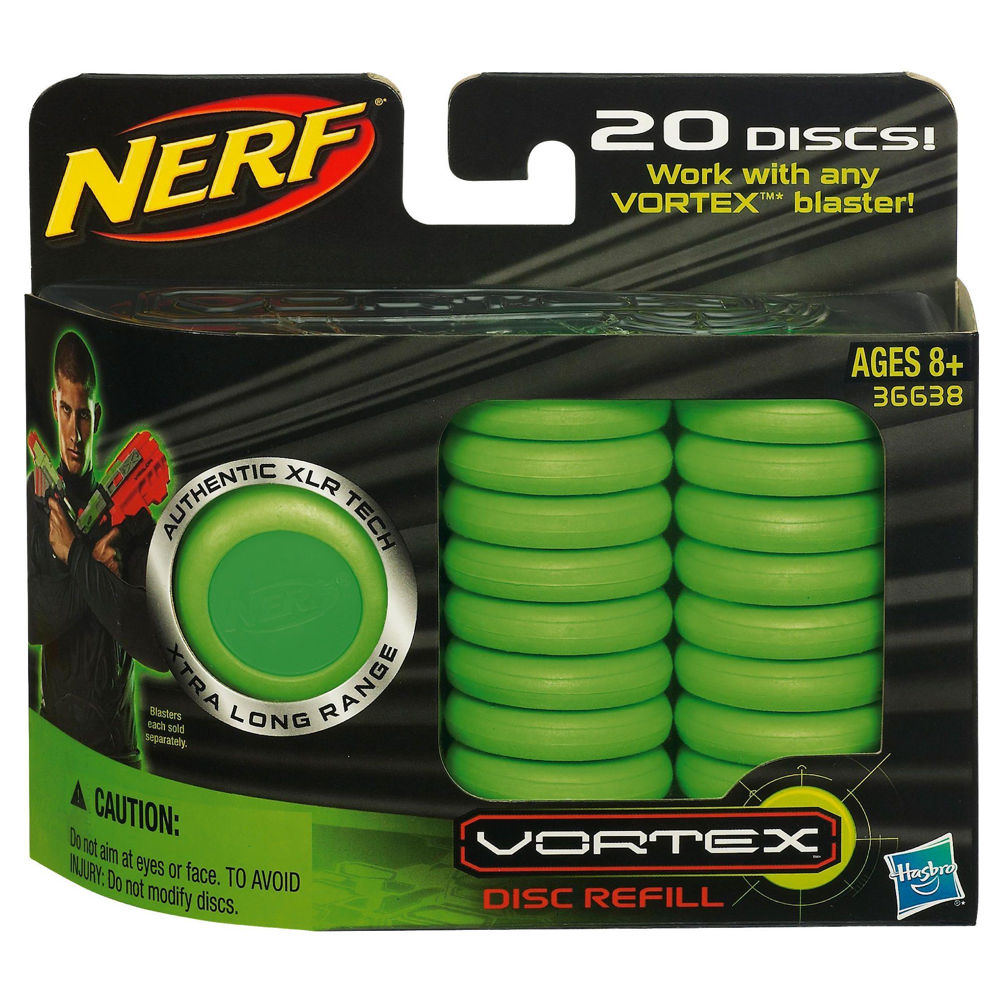 Nerf Vortex Disc Ammo Refills 20 pack