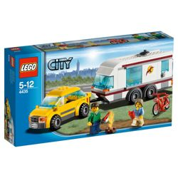 LEGO City Car & Caravan 4435