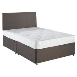 Airsprung Essentials Comfort Quilted Triple Zoned Single Non Storage Divan Bed