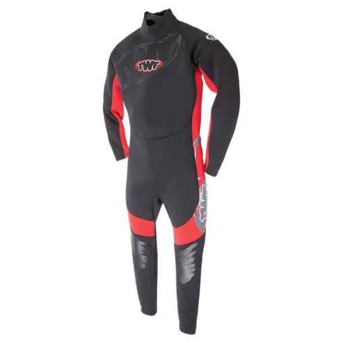 TWF Full Kids' Wetsuit age 8/9 Red