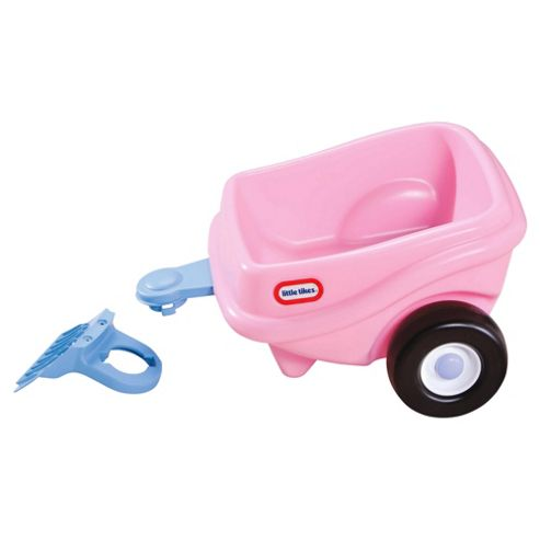 Little Tikes Princess Cozy Coupe Ride-On Trailer, Pink