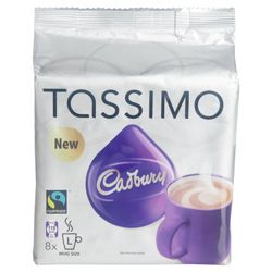 Tassimo Cadbury Milk Chocolate 408G