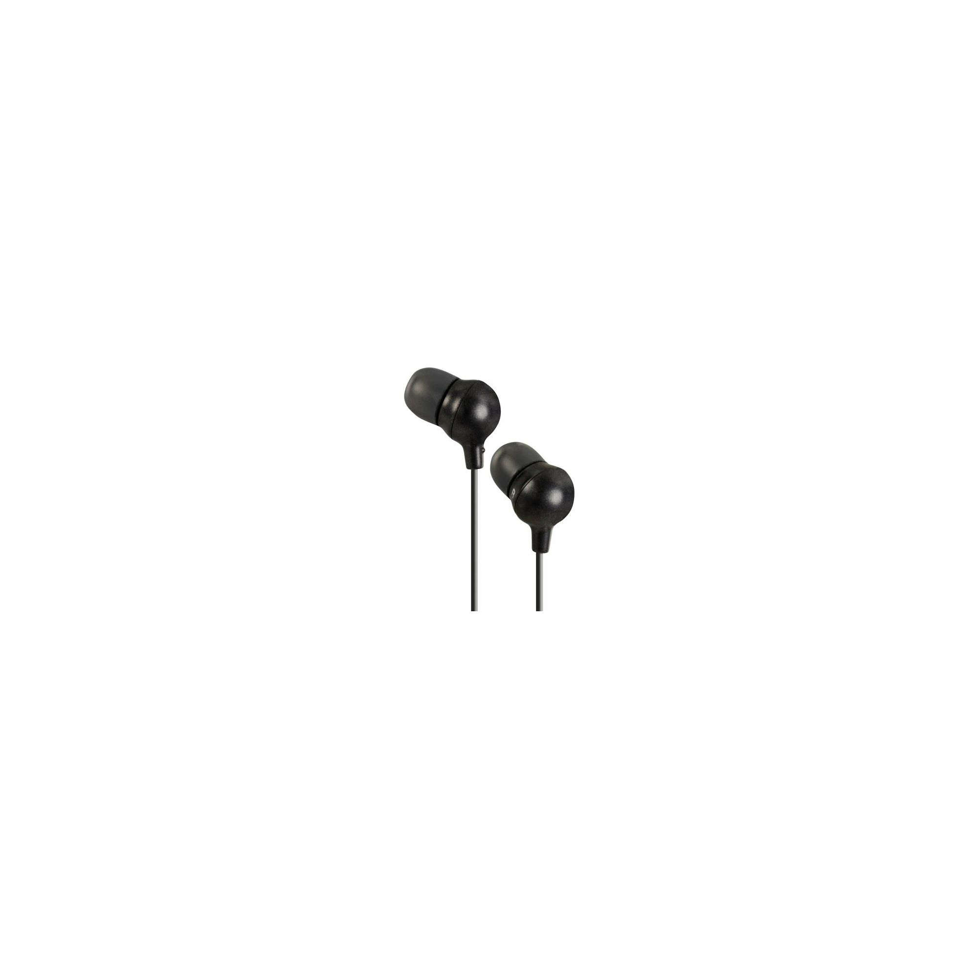 JVC Marshmallow Headphones with Remote/Mic Black HAFR36BE