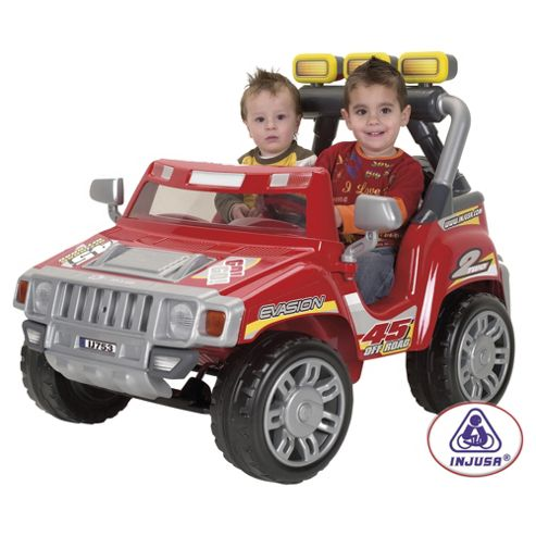 Injusa 753 Evasion 12V 2-Seater Ride-On Jeep