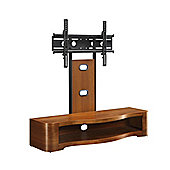 Jual JF210 Walnut Cantilever TV Stand