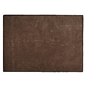 Tesco Rugs Plain Wool Rug 160 x 230cm, Mocha