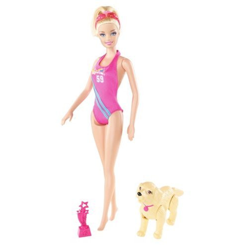 Barbie I Can Be Team Barbie Swimmer Playset